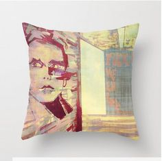 Throw pillow cover with concealed zipper multiple sizes LeonLionStudio on Etsy Throw Pillow Covers, Throw Pillows, Modern Art, I Shop, Zipper, The Originals, Unique Jewelry, Handmade Gifts, Etsy