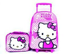 Hello Kitty Large Rolling Backpack / Luggage with Lunchbox  $27.00