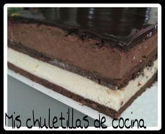 Mis Chuletillas de Cocina: Tarta Mousse de Cointreau
