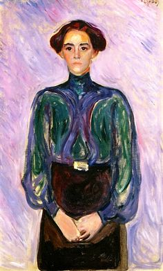 Mrs. Schwartz Edvard Munch - 1906