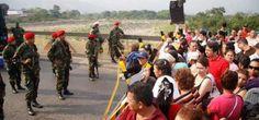 Venezuela y Colombia han decidido cerrar la frontera en común por las noches desde el lunes 11 de agosto, en un esfuerzo en conjunto para combatir el contrabando de alimentos y combustible.