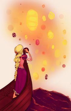 Disney - Like the sky is new by ~Elephandango on deviantART