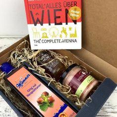 Nette Geschenke Online-Shop - Servus Österreich * rot weiss rote Originale Original Wiener Punschkrapfen