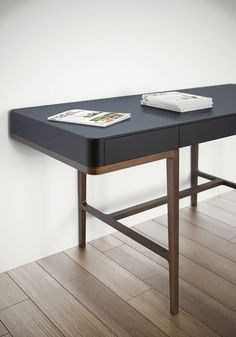 Victor – Roberto Lazzeroni – Tables and desk ideas Table Furniture, Furniture Design, Dressing Table Desk, Interior Architecture, Interior Design, Office Table, Home Office Design, Home Furnishings, Home Decor