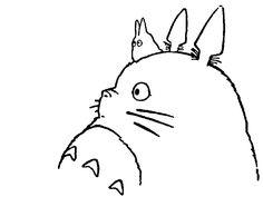 Totoro trazo