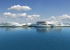 Regium Waterfront in Reggio Calabria, Italy by #Zaha Hadid Architects