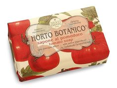 Nesti Dante Tomato Soap 250g A cocktail of vitamins C, B and A that work together to give a glowing complexion. http://www.MightGet.com/january-2017-11/nesti-dante-tomato-soap-250g.asp