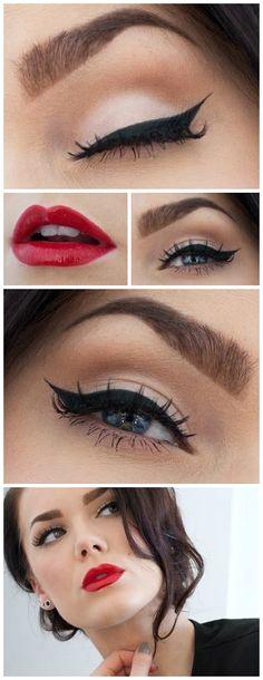 Um make poderoso para você curtir o seu dia com tudo que tem direito! #beauty #make #makeup