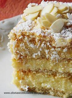Polish Recipes, Polish Food, Pavlova, Vanilla Cake, Ale, Good Food, Cooking Recipes, Interesting Recipes, Sweet Dreams