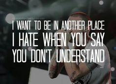 Linkin Park - a place for my head lyrics