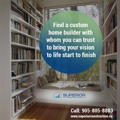 Get Unique set of plans to build your beautiful homes! Contact our Home Builders today at 905-805-8883