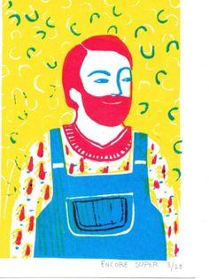 Gravures & Estampes | Encore Super | ami | Tirage d'art en série limitée sur L'oeil ouvert Street Art, Art Graphique, Artwork, Fictional Characters, Contemporary Photography, Old Photography, Etchings, Prints, Open Set