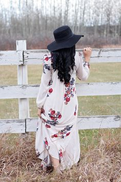 Floral Free People Maxi Dress