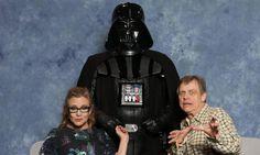 ¿Fans? Los de Star Wars. Miren sus reacciones