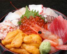 ウニ入り海鮮丼・・・1,600円