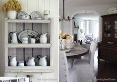 Shabby Chic Interiors: Una casa di charme