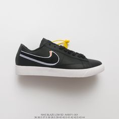 ebe8994167883 Nike Blazer Low Leather UNISEX Nike Blazer Low LX Rainbow Shoes with smooth  leather and two-tone Swoosh Des