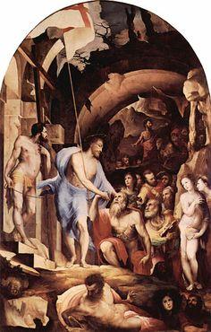 Jesus in Limbo by Domenico Beccafumi