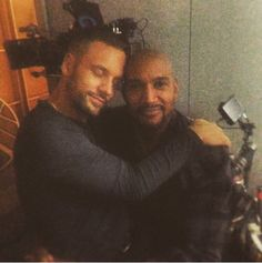 nick blood and henry simmons appreciation
