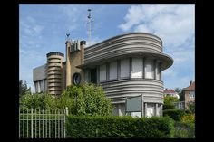 Art deco villa empain in brussels belgium is restored to its