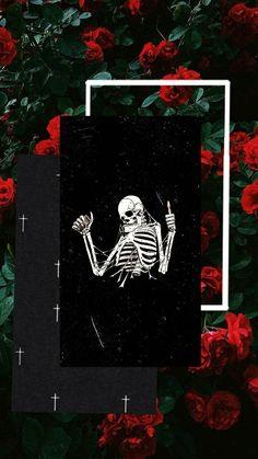 Japanese Wallpaper Iphone, Iphone Wallpaper Themes, Dark Wallpaper Iphone, Cute Wallpaper Backgrounds, Pretty Wallpapers, Aesthetic Iphone Wallpaper, Hippie Wallpaper, Trippy Wallpaper, Skull Wallpaper