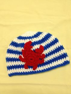 Easter 2013 ~ Crabby Goes Sailing. The free crab applique pattern can ...