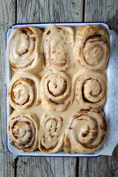 Milk and Honey: Vegan Cinnamon Rolls with Coffee Glaze