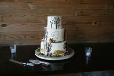 Fall Wedding Cake Fall Wedding Desserts, Country Wedding Cakes, Rustic Wedding Venues, Fall Wedding Cakes, Wedding Cake Rustic, Unique Wedding Cakes, Wedding Cake Designs, Our Wedding Day, Wedding Locations