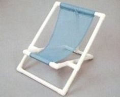 This beach chair you will have for ever. Won't rust out at the beach. Made of pvc.