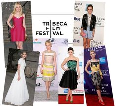 We've picked some of our favourite outfits from the Tribeca Film Festival - which one do you rate the most?