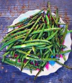 Sweet Sesame Snapped Green Beans - Perfect For All You Veggie Haters!