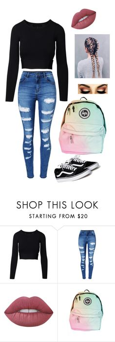 """""""Made By My BEST FRIEND EVER Zaniah!♥️♥️♥️"""" by graciesmiles1324 ❤ liked on Polyvore featuring WithChic and Lime Crime"""