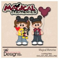 Magical Memories-scrapbooking and paper craft files SVG Cutting File SVG Cuts silhouette cameo Cricut explore