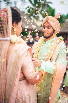 "Photo from album ""Nikita + Paresh"" posted by photographer Deepak Vijay photography Planner Organisation, Lehenga Wedding, Wedding Rituals, Lehenga Saree, Wedding Preparation, Real Weddings, Indian Mehendi, Photoshoot, Instagram"