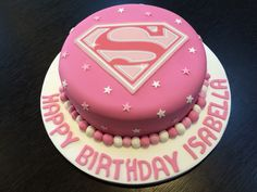 Supergirl Cake by Victoria Defty Couture Cakes!