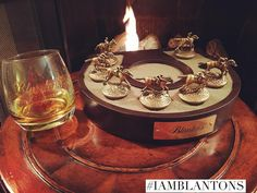 """""""My wife bought me this display for my horse collection. We polished off my last bottle and now I only need one more horse to complete it! """" link in the bio for this display #iamblantons by blantons_bourbon"""