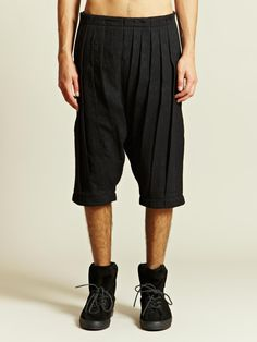Individual Sentiments Men's Woven Pleats Pants | LN-CC