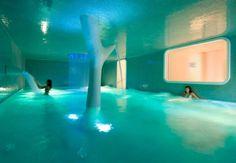 Spa indoor pool in Nice