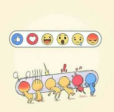 Facebook reactions #lol