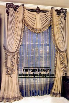 Unique drapes curtain design