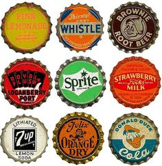 6 vintage Mason/'s Root Beer Corked Lined soda bottle caps unused New Old Stock