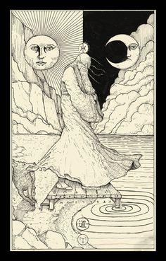 The Fool ( Tarot Card ) by erikemiranda