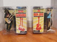 Jon Bon Jovi And Richie Sambora Figures