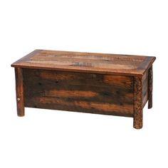 Fireside Lodge Furniture B1220 Barnwood Blanket Hope Chest | ATG Stores