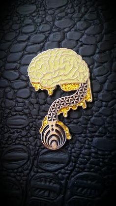 Where Is Your Mind Bassnectar Hat Pin by RageNationApparel on Etsy, $18.00