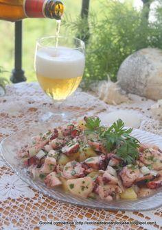 Cocina compartida: Ensalada de pulpo con patatas