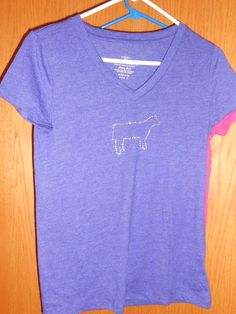 My favorite show t's! Love this purple show cattle bling t-shirt  www.facebook.com/blingcowgirlbling  www.pacowgirlbling.weebly.com