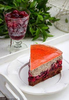 """Ein Express-Kuchen """"Cherry Straciatella"""""""