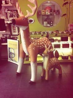 Inflatable Deer    www.englandathome.com