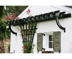 Arbor/Trellis top is designed for climbing flowers and herbs